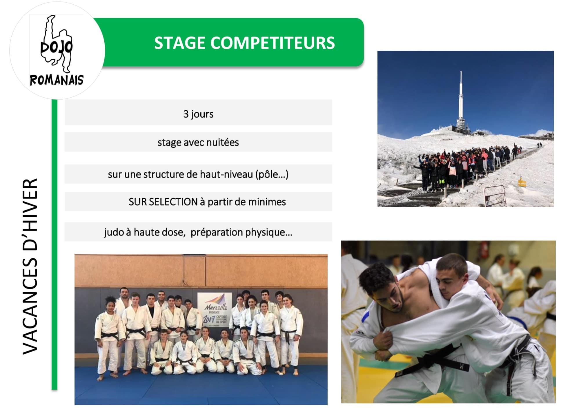 Hiver stage compétiteurs