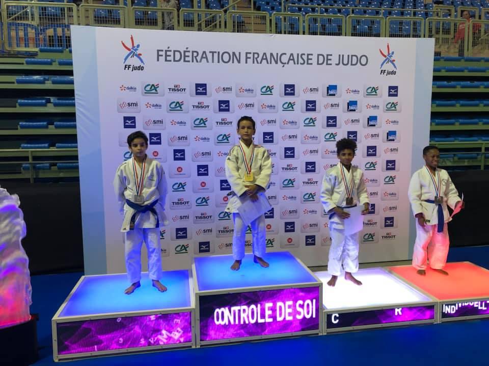 Ismael Grirane championnat de France minime 2019