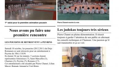 Judo hebdo 2 page 1