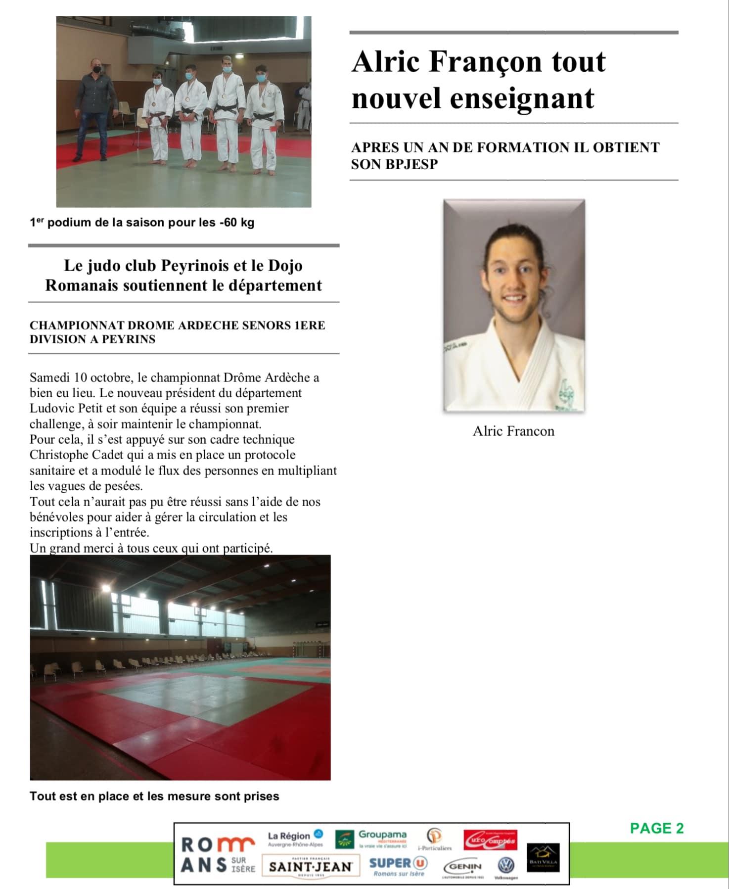 Judo hebdo 2 page 2