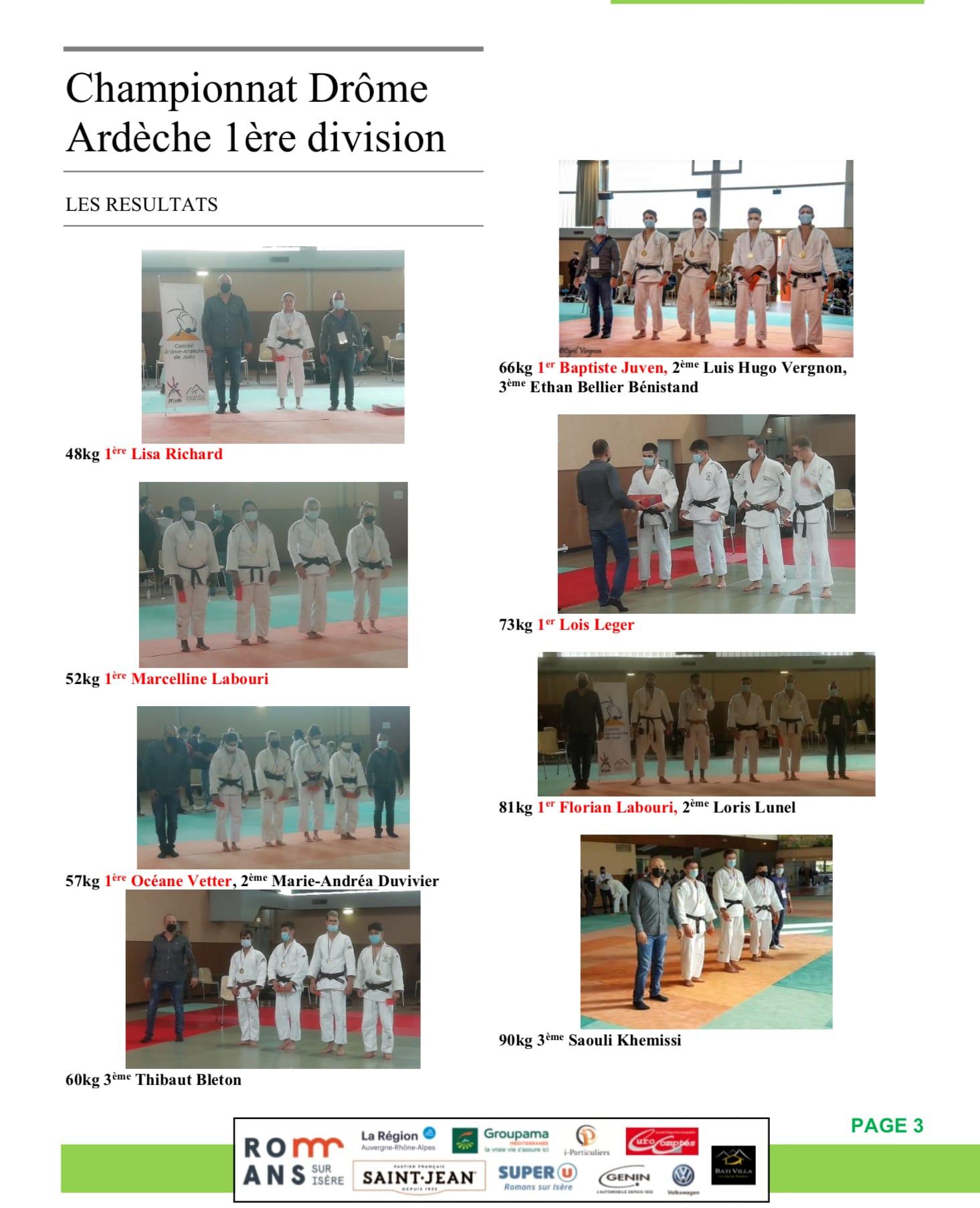 Judo hebdo 2 page 3