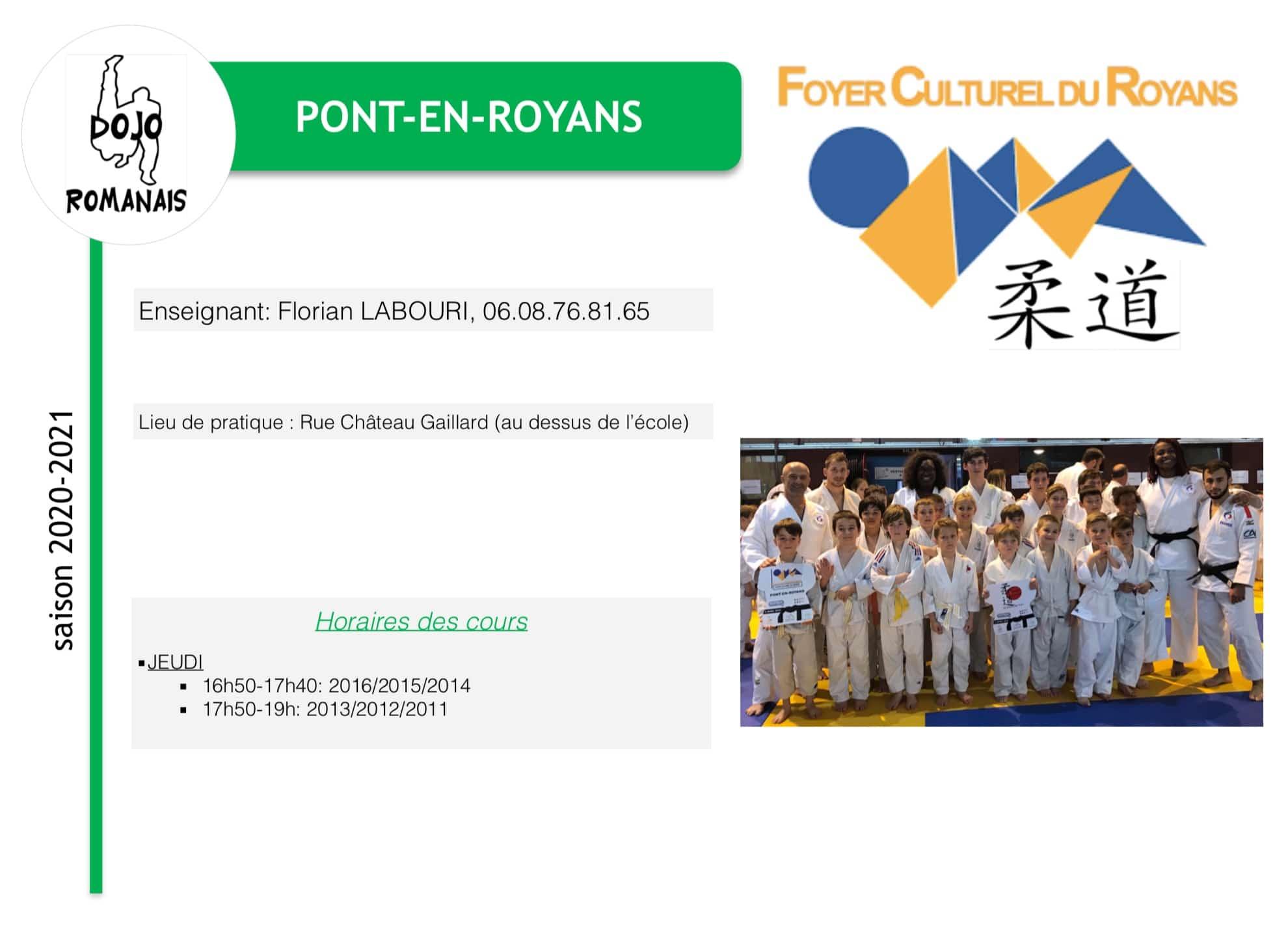 Pont en Royans 2020 21
