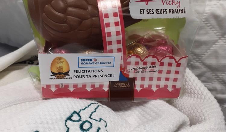 Poule chocolat DR