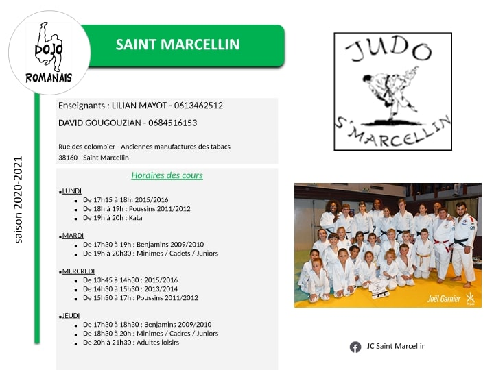 Presentation Section - Saint Marcellin