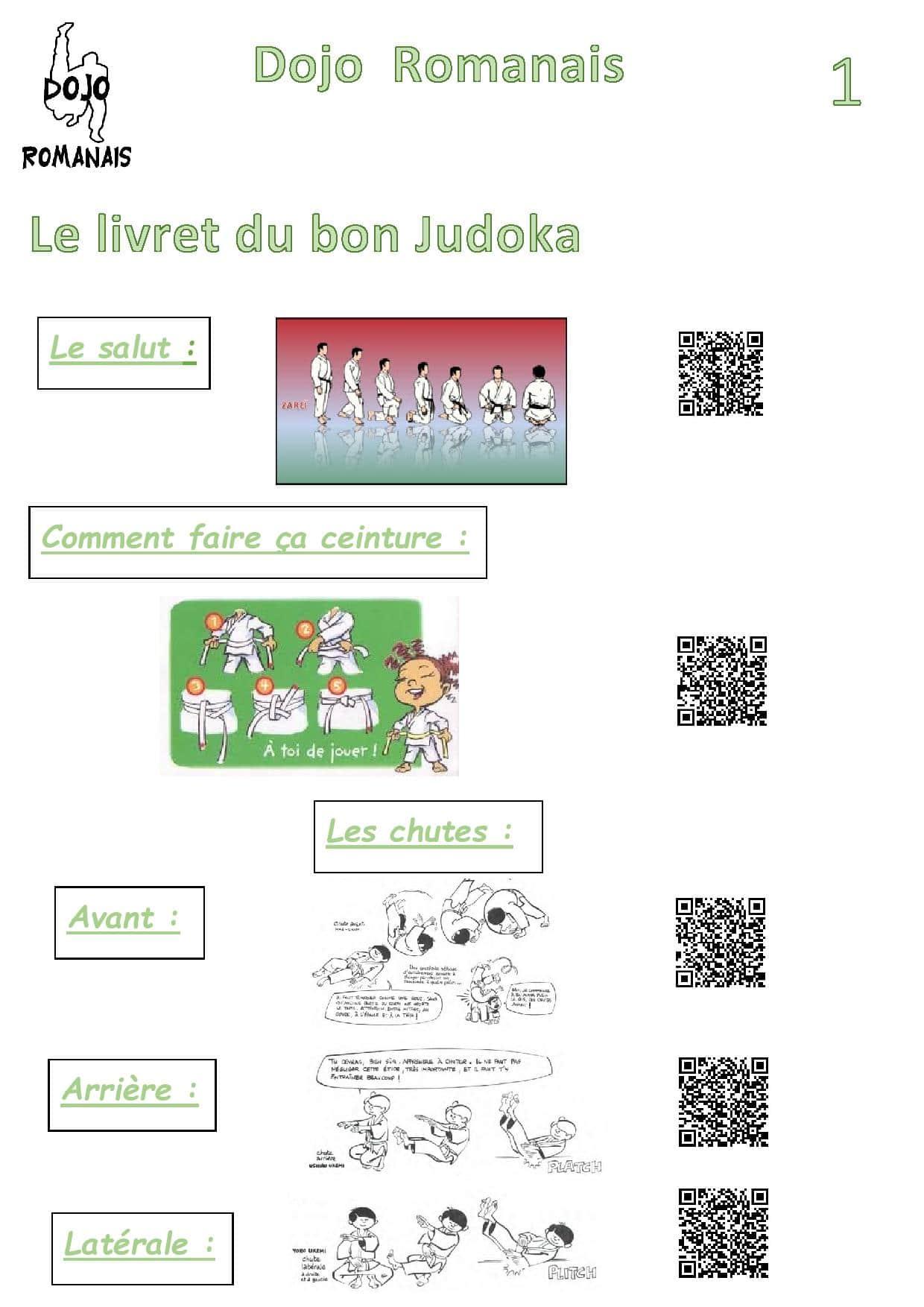 livret judo 1
